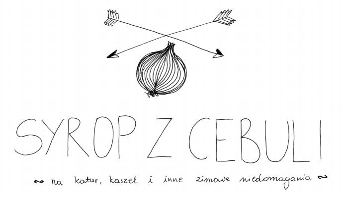 syrop z cebuli przepis the moon mom ręczny rysunek