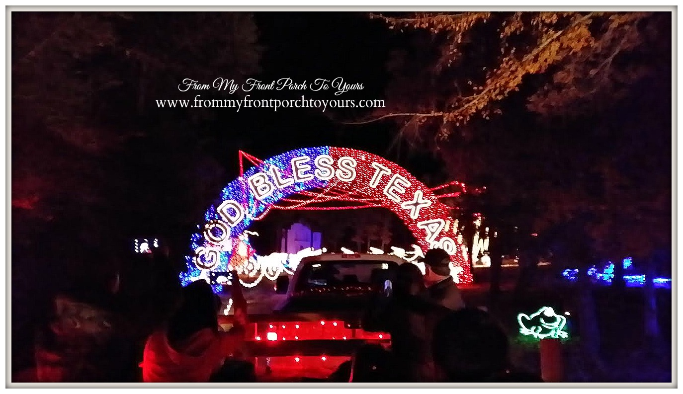 Santa's Wonderland College Station- Christmas Lights-From My Front Porch To Yours
