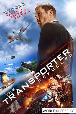 The Transporter Refueled 2015 HDRip 250mb hollywood movie Transporter Refueled compressed small size free download at world4ufree.cc