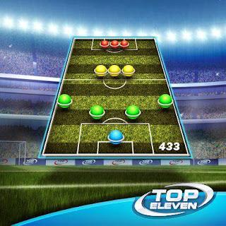 Taktik dan Formasi 4-3-3 Top Eleven