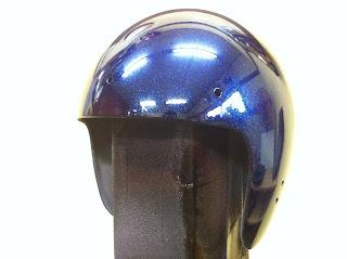 530584104 - カスタムペイント工程  ジェットヘルメット スカル クリアースピニング