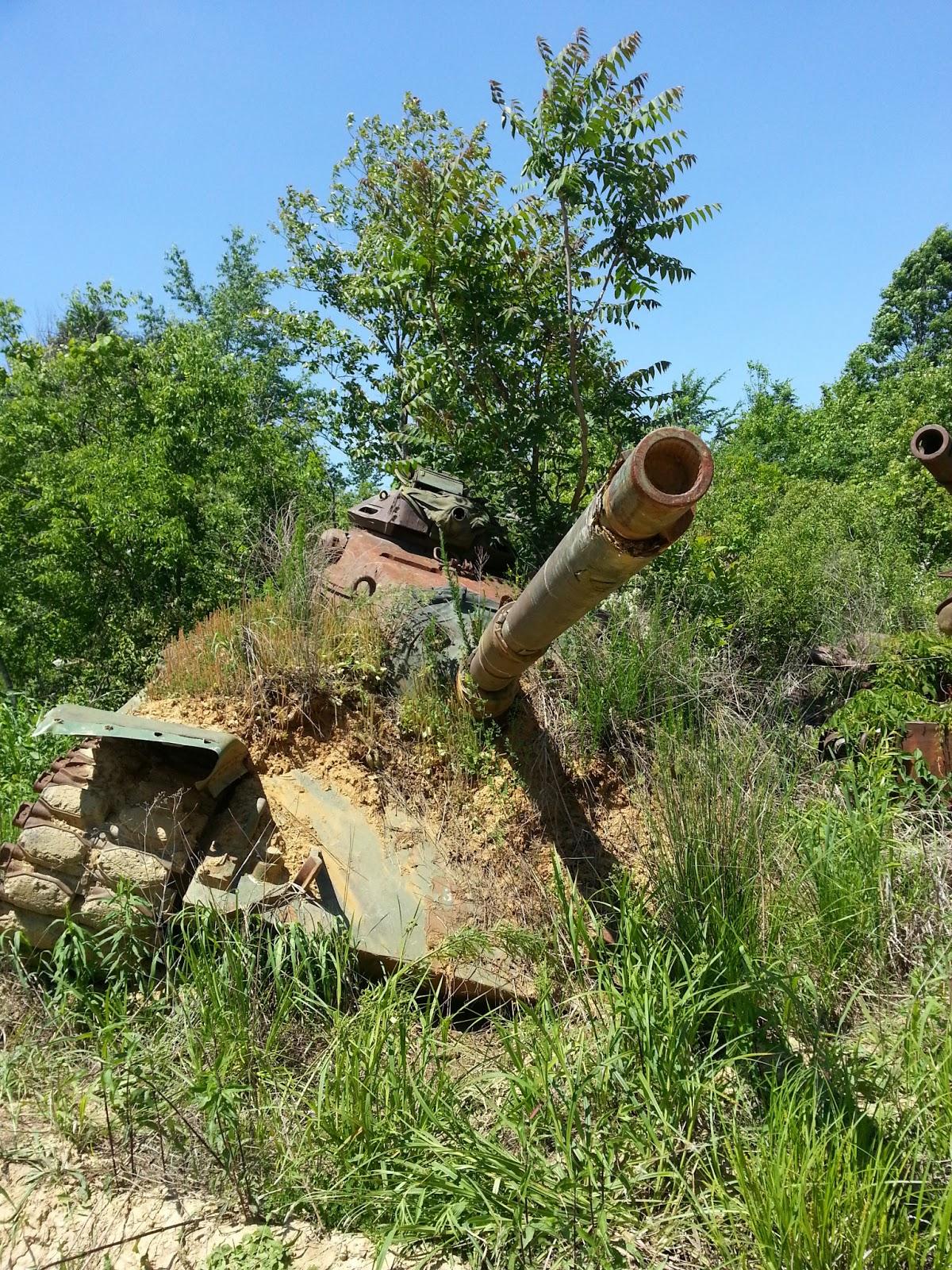 NAVER まとめ廃墟 廃棄戦車編  まとめ