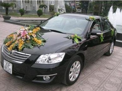Camry 2.4G - Xe cưới - Cho thuê xe Camry 2.4G