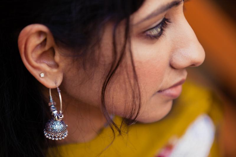 top 20 indian fashion blogs, best indian fashion blog, indian fashion silver jhumkis