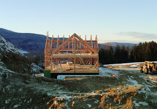timber frame home in berkshires