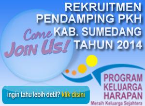 Rekruitment Lowongan Kerja Pendamping PKH Kab. Sumedang Tahun 2014
