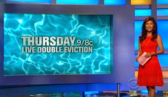 Big Brother 16 Double Eviction Results