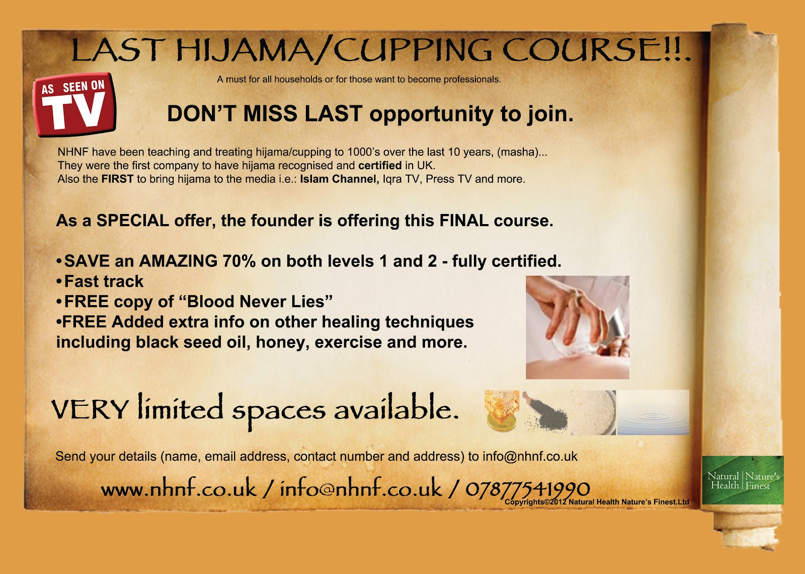 Ahealth: Hijama course by NHNF