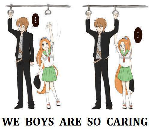 We Boys Are So Caring  funny images