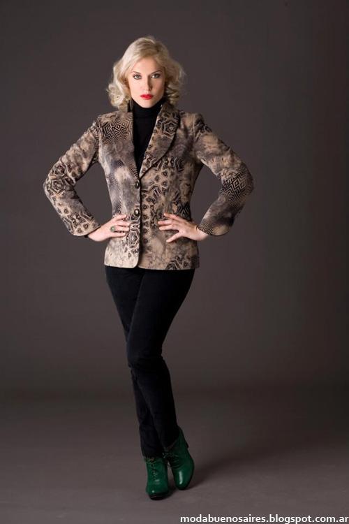 Moda invierno 2013 Noelia G blazers