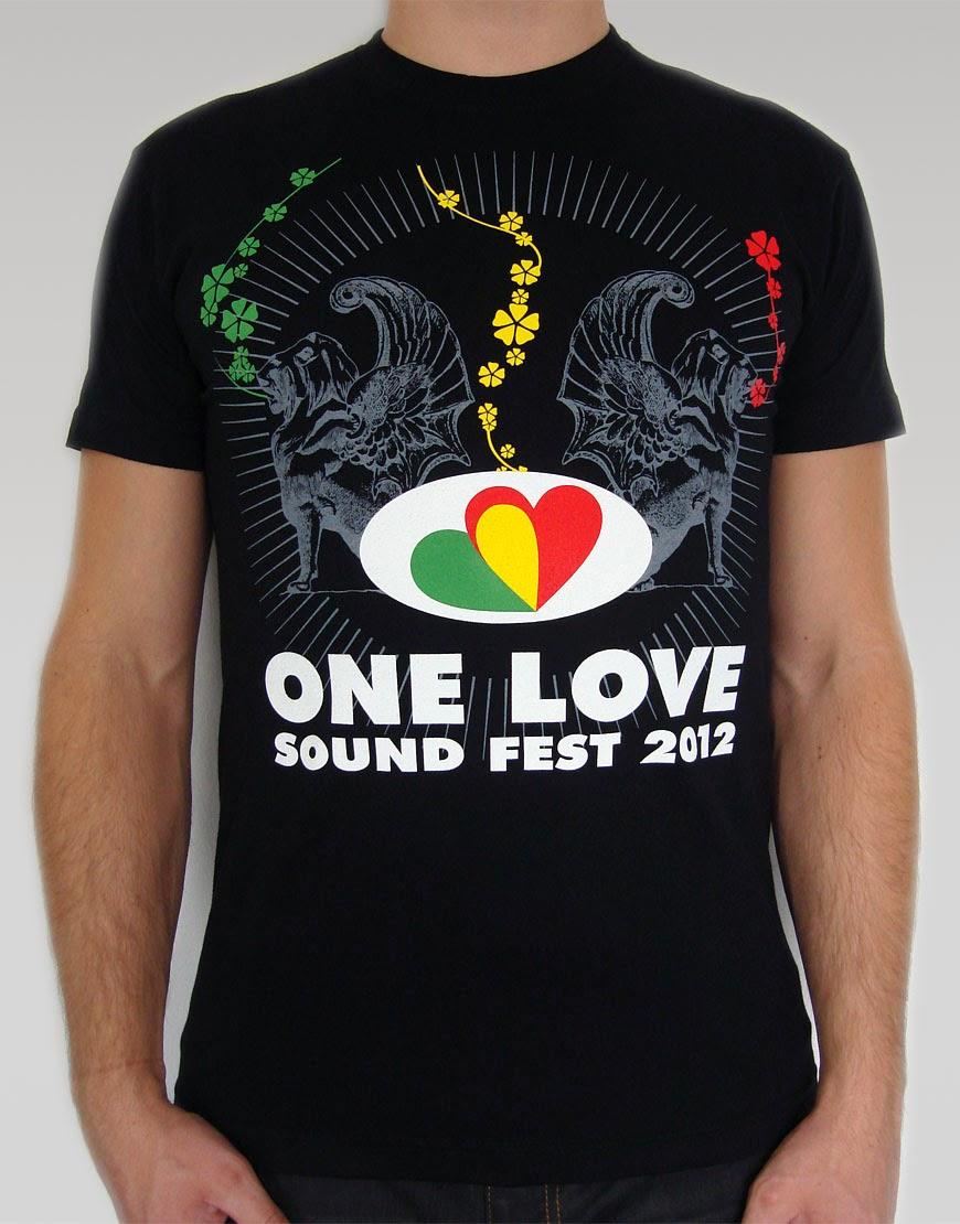 Koszulka One Love Sound Fest