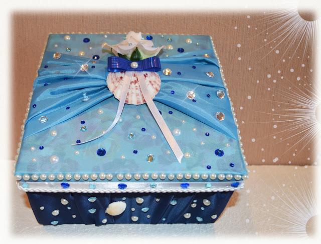 свадебная коробочка своими руками