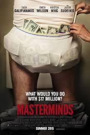 Masterminds (2015) posters freezmovies