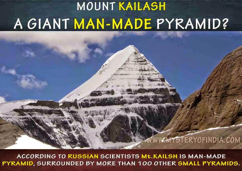 UFO mania: Mount Kailash – A manmade pyramid?