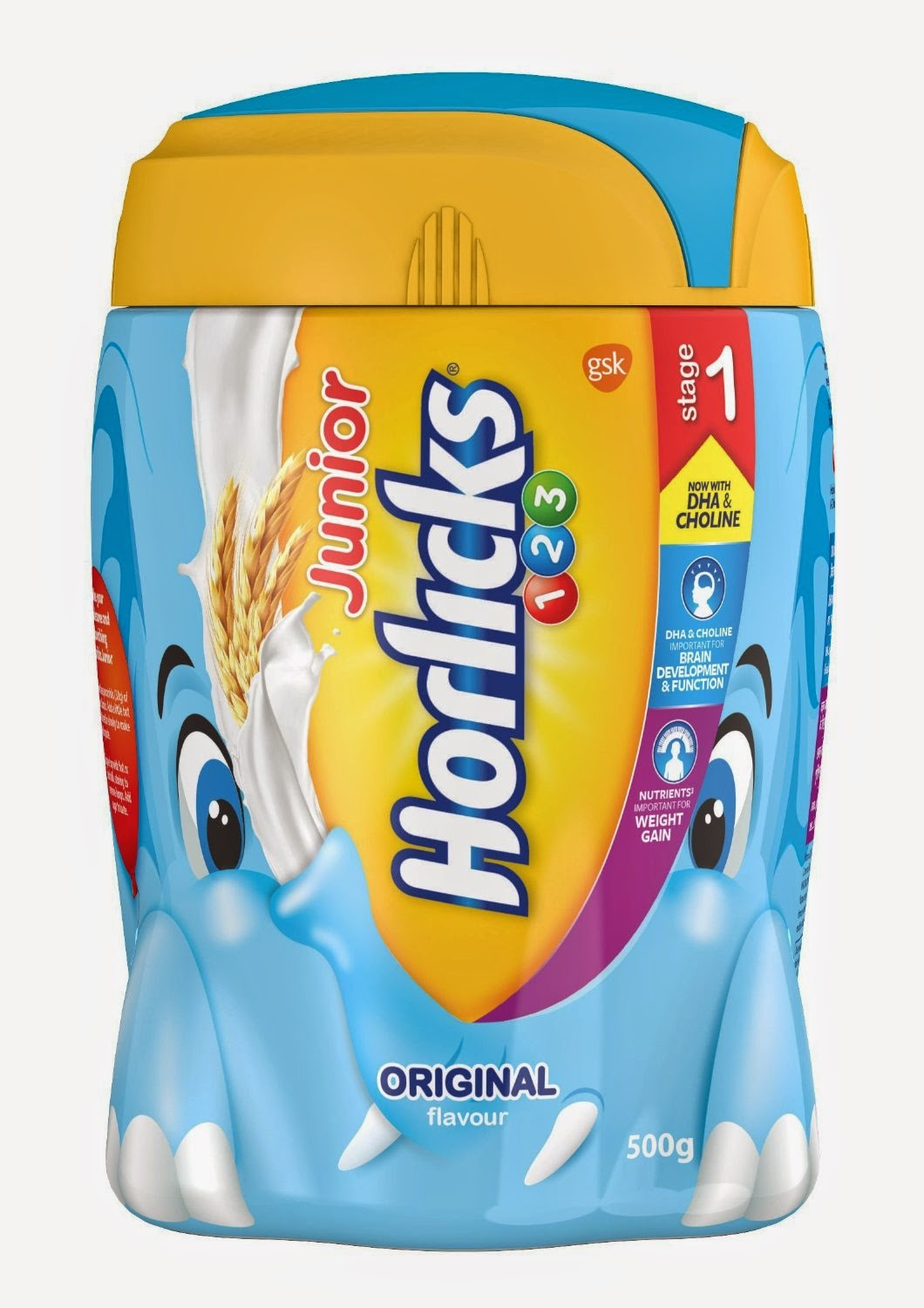 Buy Junior Horlicks 123 Jar – 500 g (Original) Rs. 199 only at Amazon.