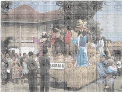 Gambar Kristik Tradisi Unduh-Unduh Di GKJW Mojowarno - Jombang