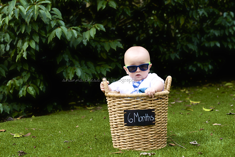 Eugene, OR Baby Photography basket