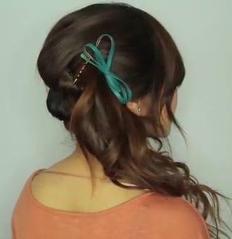 The One Minute Hairstyle Tutorial