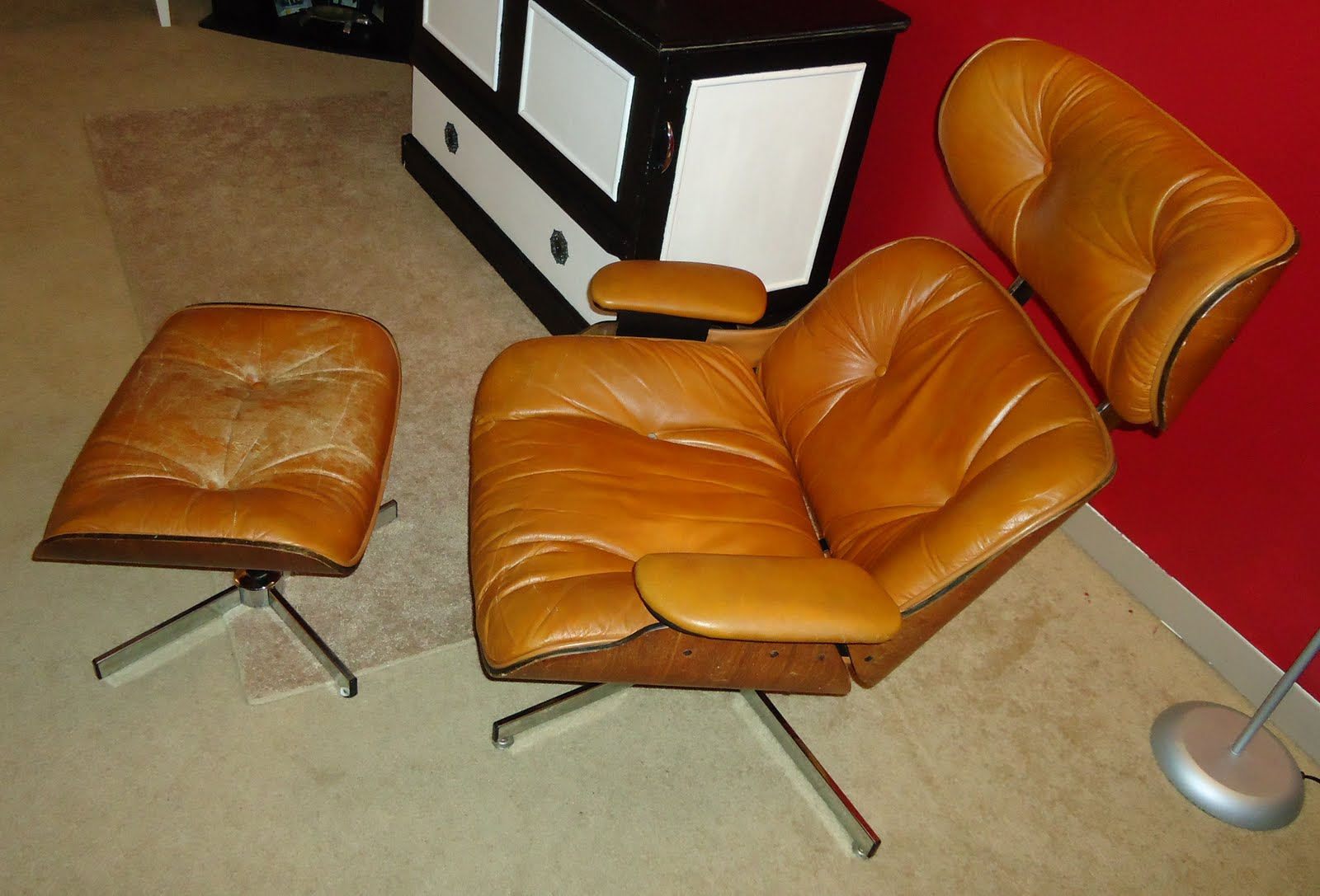 U Can Do This 2 Reupholstered Plycraft Eames Herman Miller Chair