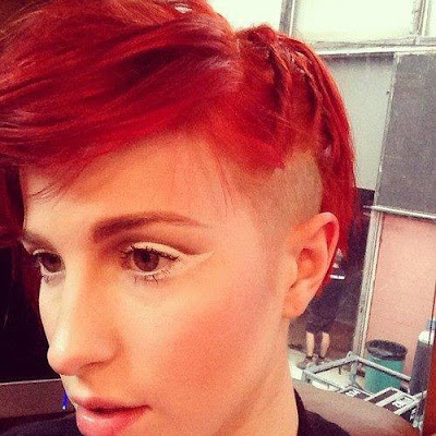 Hayley Williams new hairstyle 2013