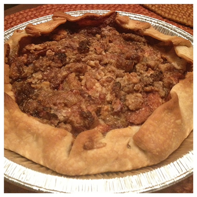 """Homemade"""" apple crumble pie with brown sugar   Big City (small ..."""