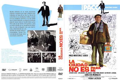 La ciudad no es para mí | 1966 | Con Alfredo Landa y Paco Martínez Soria