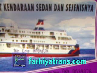 jual tiket kirim mobil dengan kapal laut