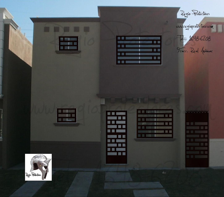 Protectores para ventanas y puertas, Fracc. Real Anáhuac, Foto