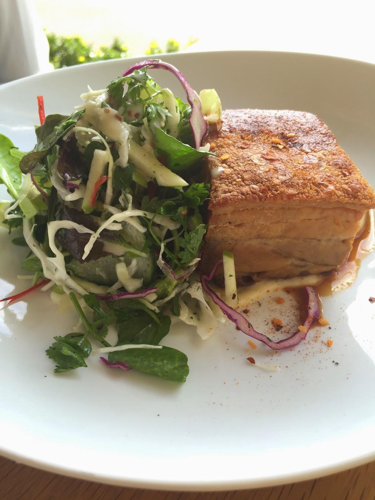 Cassie Cakes Dunbar House Review pork belly