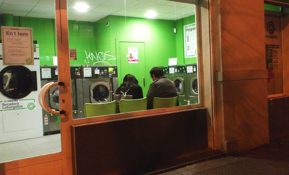 lavado en seco, paisaje humano, establecimientos,