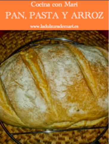 Libro gratis de recetas de pan, pasta y arroz