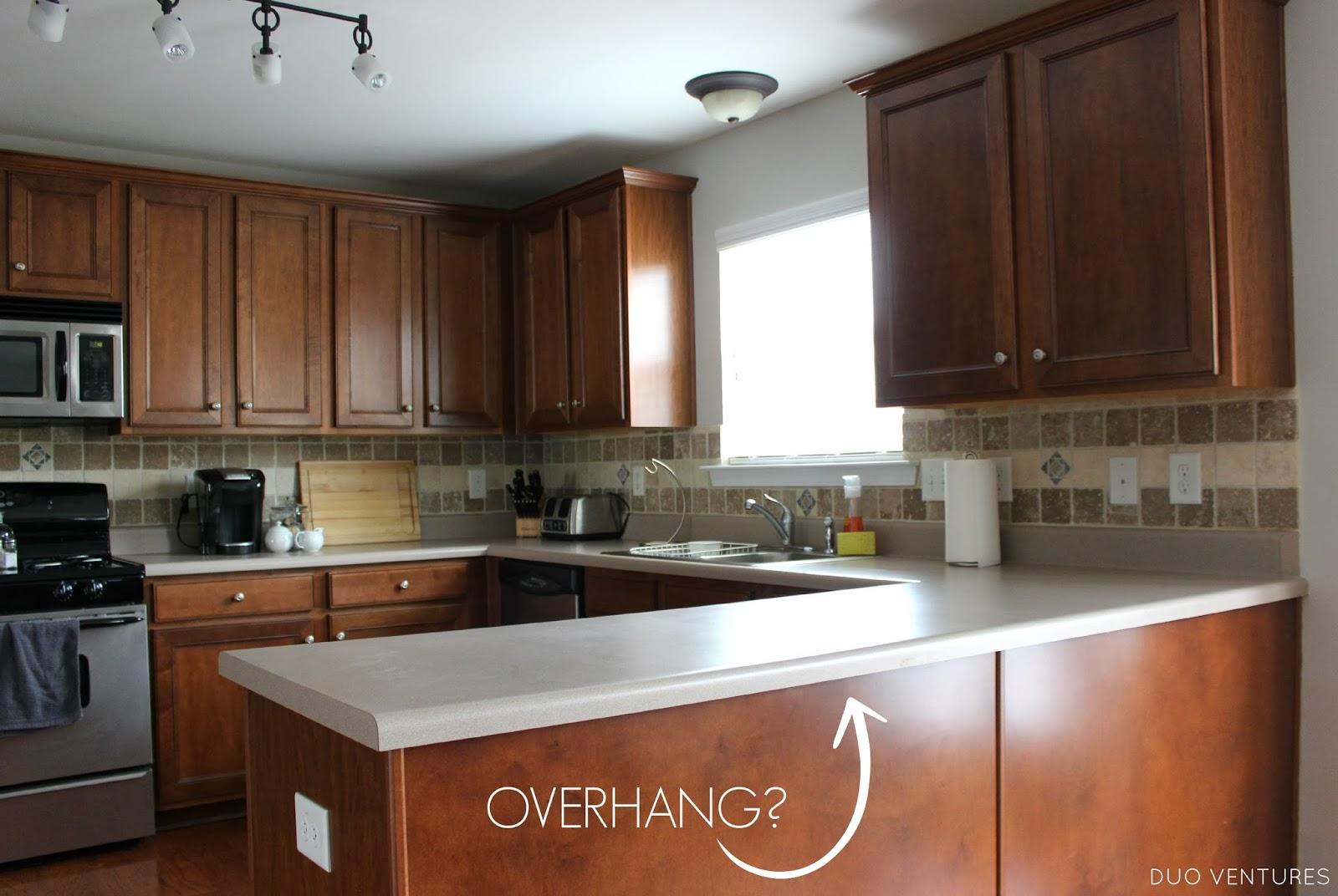 Duo Ventures Kitchen Makeover Choosing Countertops