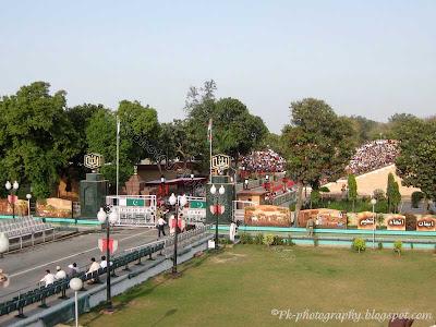 Wagah Border Lahore