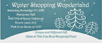 Oakwood Winter Wonderland Poser Free Hot Chocolate Shopping Bags Visit Santa Arrive