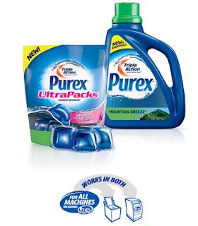 Free Purex Laundry Detergent Sample