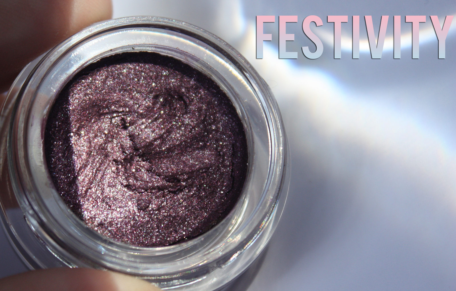 elf long-lasting eyeshadow Festivity