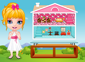 Baby Barbie Doll House