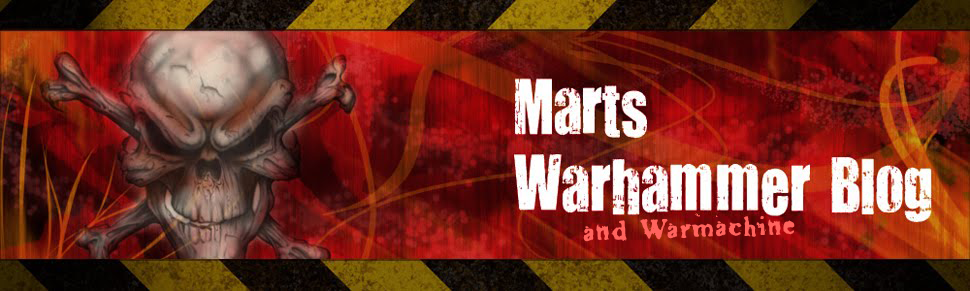 Mart&#39;s Warhammer 40k Blog