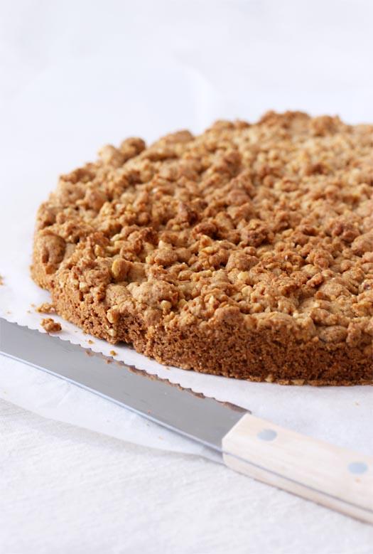 torta croccante nocciole