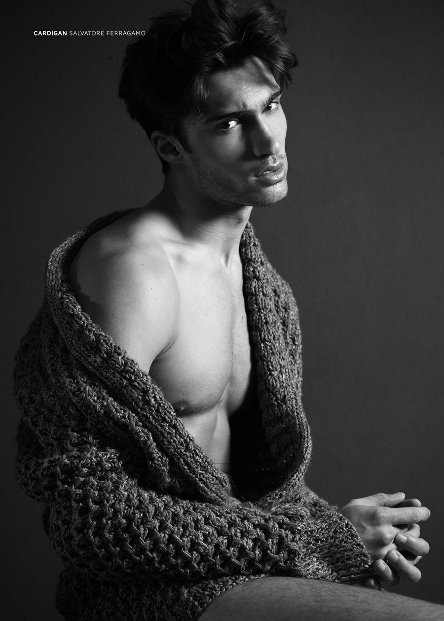 Beautiful hairy man Mario Loncarski from Serbia.