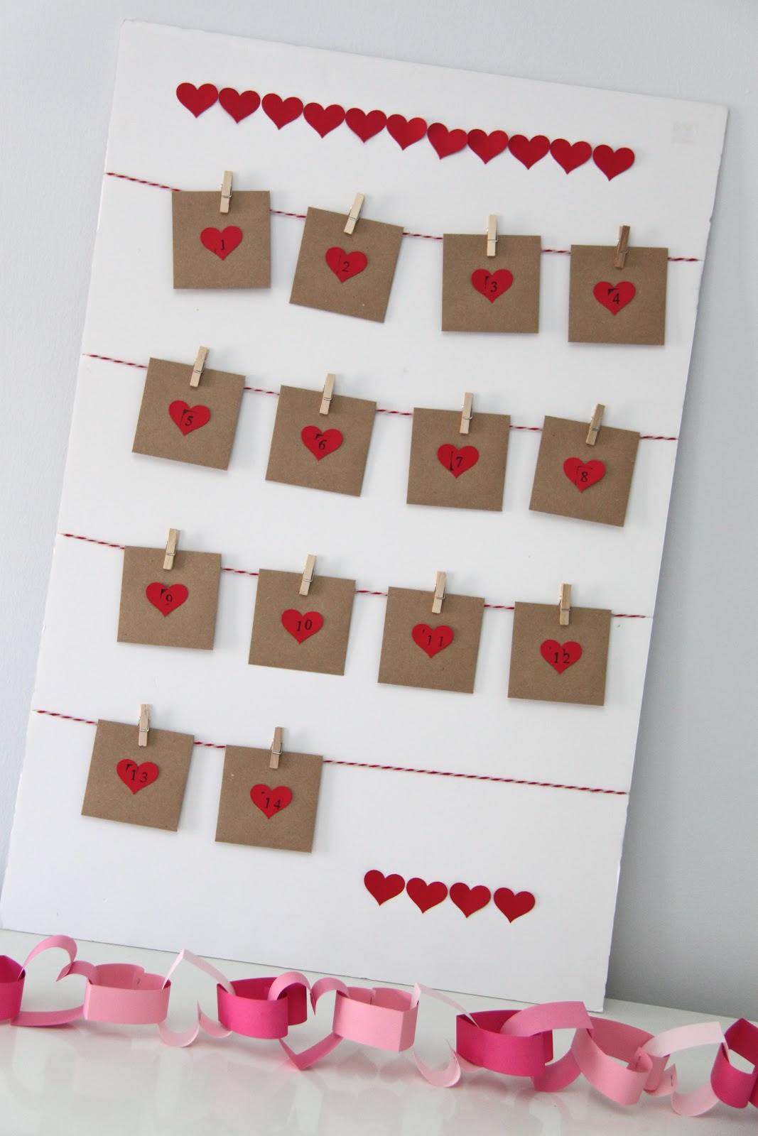 Smashed Peas and Carrots: TUTORIAL: Valentine's Advent Calendar