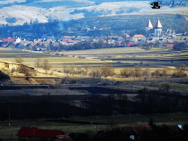 panorama dealu frumos transilvania