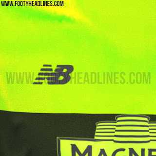 "gambar photo Detail Jersey Celtic third ""Bumble Bee"" terbaru musim 2015/2016"