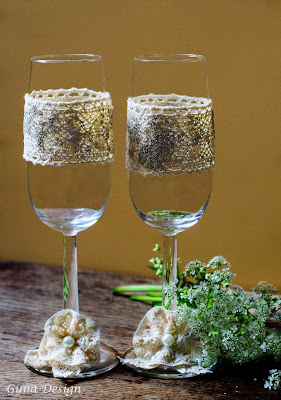 gunadesign guna andersone countryside wedding toasting champagne glasses