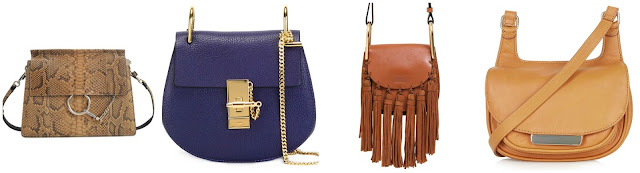 Three of these are new bags from Chloé for $1,200 - $2,695 and the other is a new bag from Topshop for $125. Can you guess which one is not a Chloé bag? Click the links below to see if you are correct!
