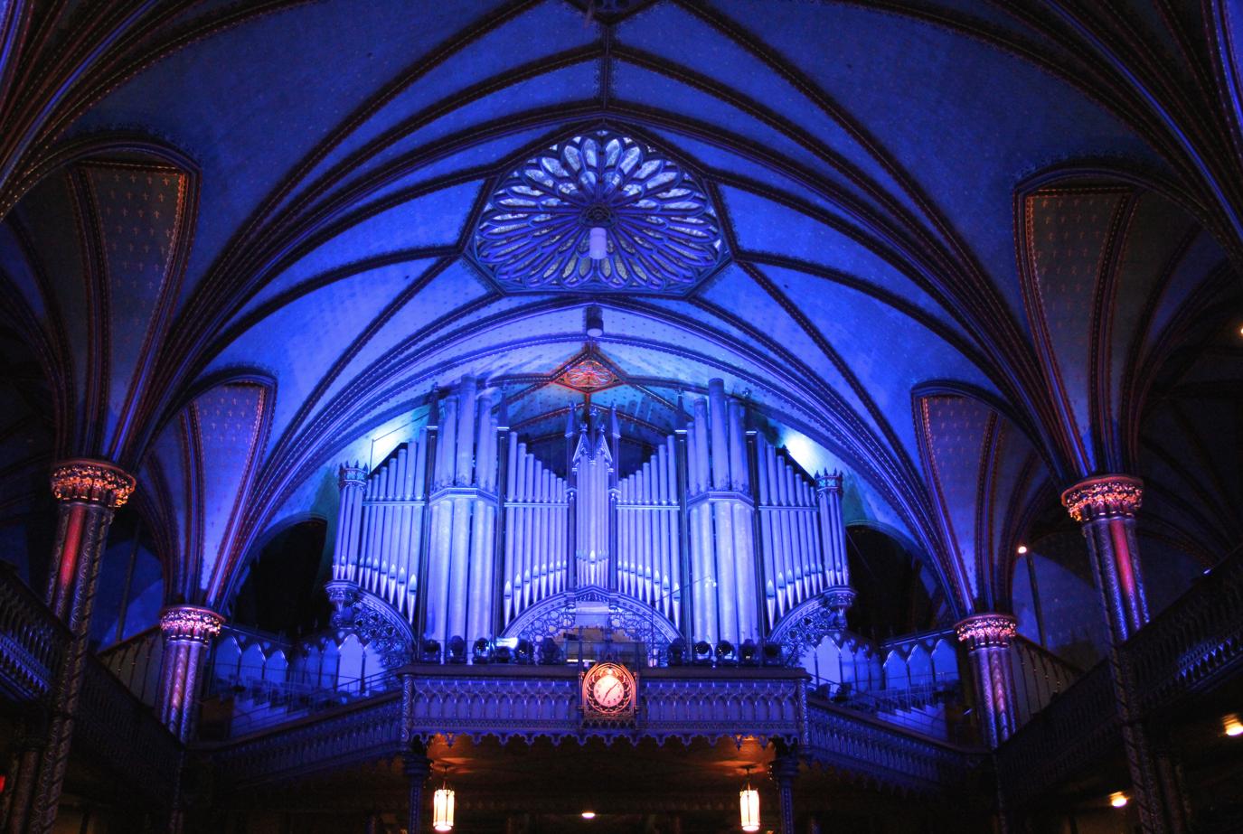 Notre Dame Basilica, Montreal - Casavant organs