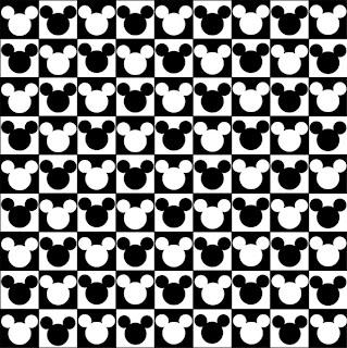 Cabeza de mickey mouse para imprimir
