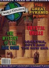 NEW FOR AUGUST 2011-WORLD EXPLORER MAGAZINE --NUMBER 1 , VOL 6