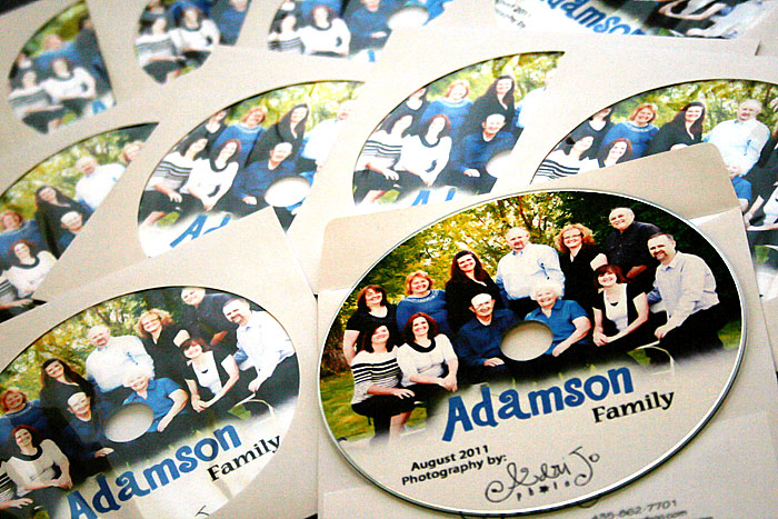 Photo Delivery {Family Reunion Photography}