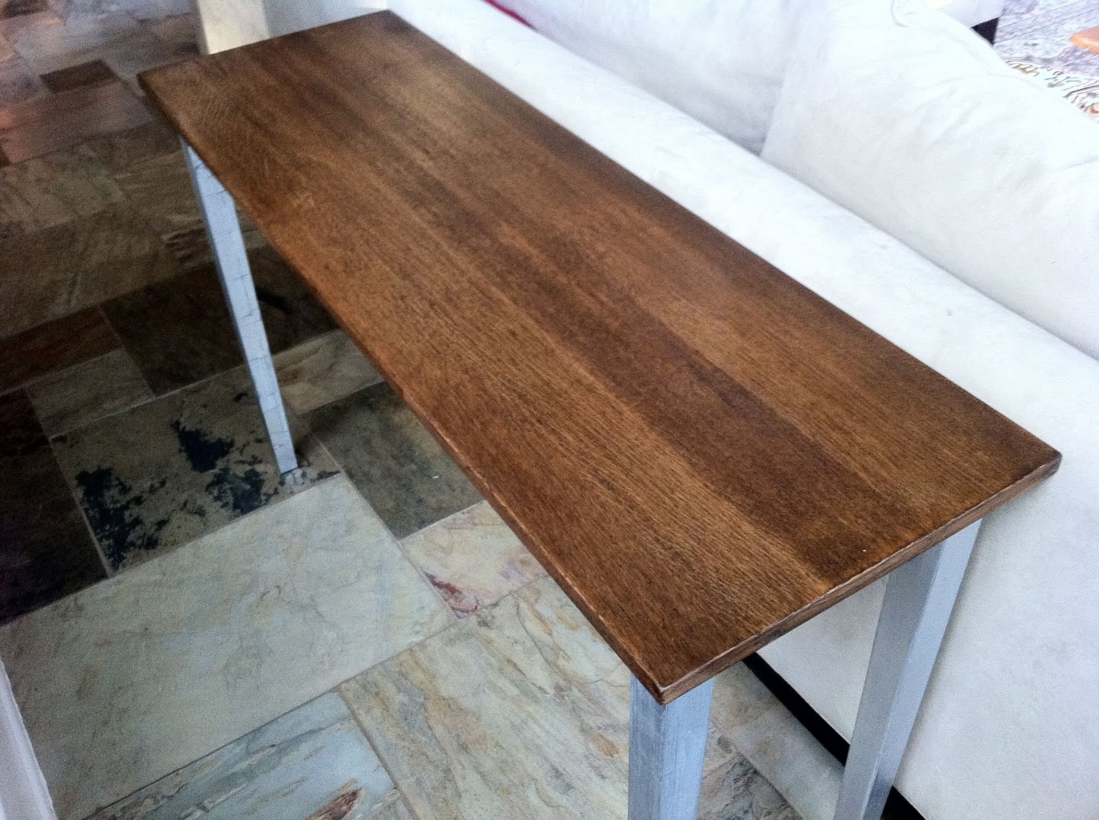 Minwax Dark Walnut On Pine With minwax walnut stain.